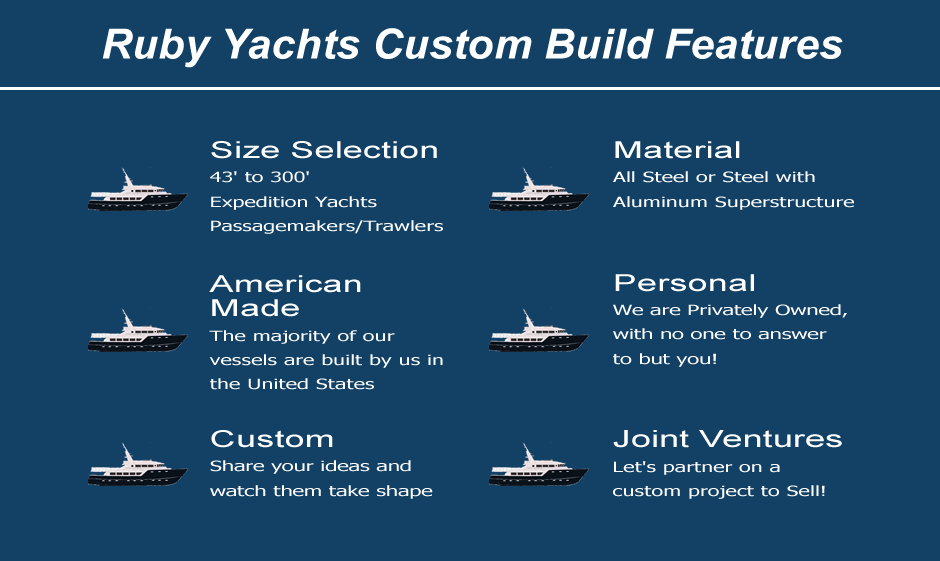 Ruby Yachts Custom Boat Builders